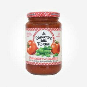 Tomatensauce im Glas