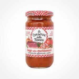 Tomatensauce mit Schinken – Sugo alla montanara