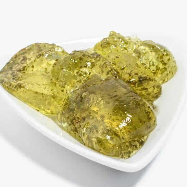 Mint Jelly in Schale