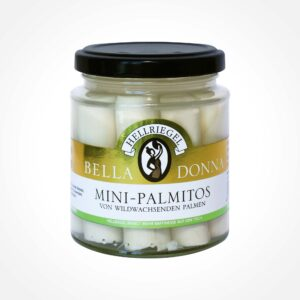 Mini-Palmitos natural, especially delicate from wild-growing palm somas