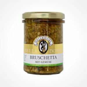 Bruschetta with vegetables
