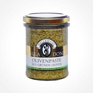 Olive paste made from green olives